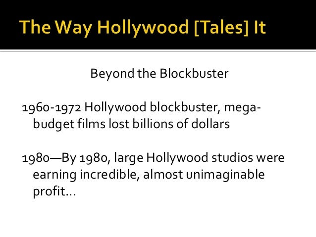 """  Hollywood's advantages  """"   Huge American market   English language    Hollywood's strength's  Big budgets  Popul..."""