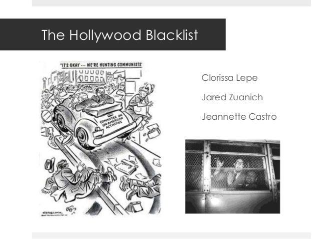 The Hollywood Blacklist                          Clorissa Lepe                          Jared Zuanich                     ...