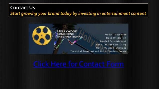 Case study roi for brand integration product placement Hollywood motors st louis mo