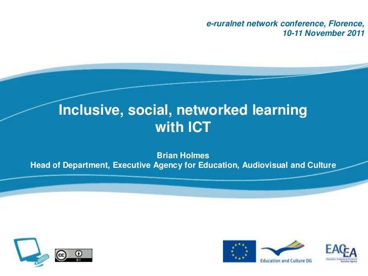 e-ruralnet network conference, Florence,                                                              10-11 November 2011 ...