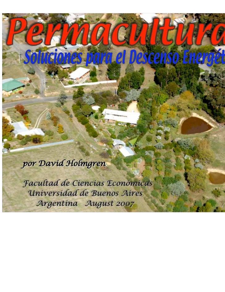 por David HolmgrenFacultad de Ciencias Económicas Universidad de Buenos Aires   Argentina August 2007