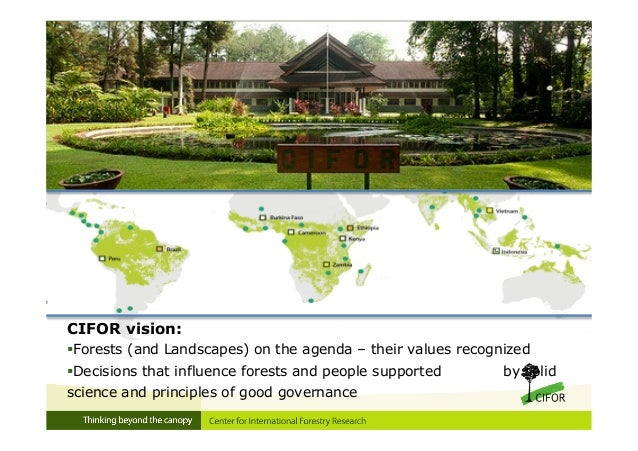 Sustainable forest management in central africa past