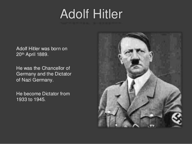adolf hitler and the holocaust 2 Adolf hitler, one of history's most notorious dictators, initiated fascist policies in  nazi germany that led to world war ii and the deaths of at least.