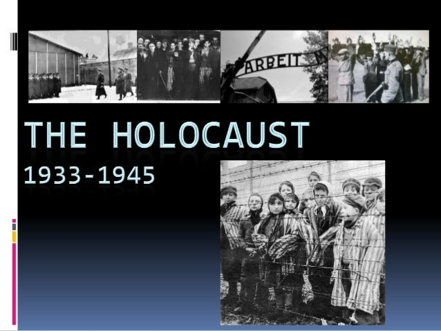 Between 1933 and 1945 10-11 million people (Jews and others) were persecuted and murdered as a result of the events leadin...