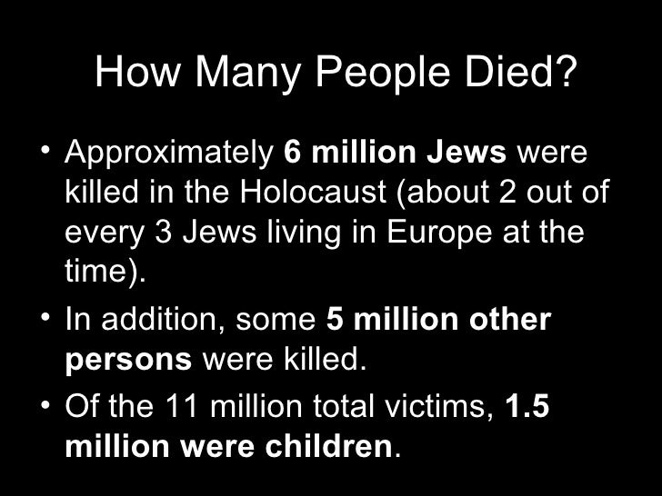 my personal thoughts about the holocaust In the decades since the holocaust, some national governments, international bodies and world leaders have been criticized for their failure to take appropriate action to save the millions of european jews, roma, and other victims of the holocaust critics say that such intervention, particularly by the allied governments, might have saved.