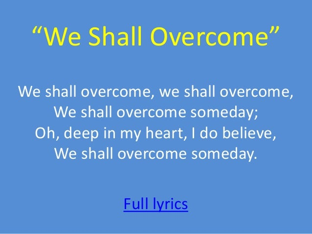 """We Shall Overcome >> """"We Shall Overcome"""" YA and MG Books About Resisting Oppression During…"""
