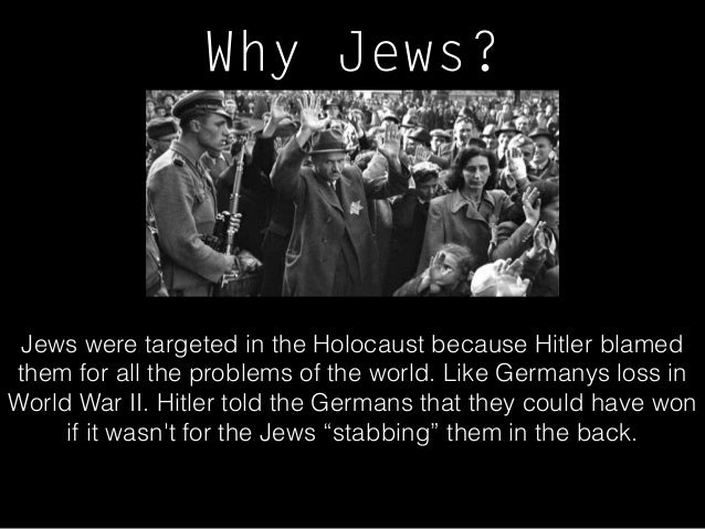 An attempt to explain how the holocaust and world war ii happened