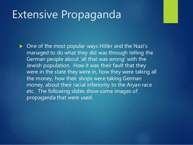 racial propaganda during the reign of the third reich Mary mills explores the use of propaganda during the nazi era and its use with children 'in the course of  according to nazi racial ideology, a pure race, .
