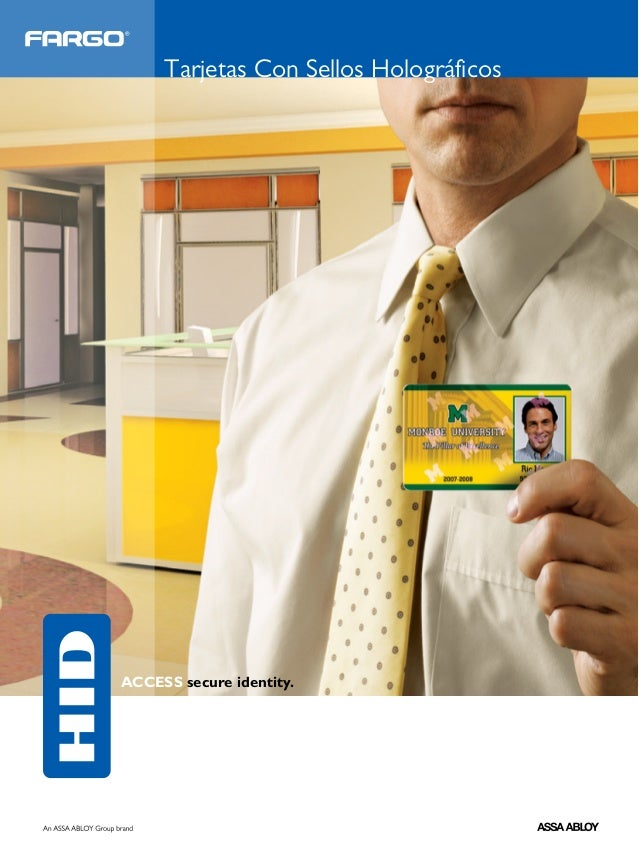 Tarjetas Con Sellos HolográficosACCESS secure identity.