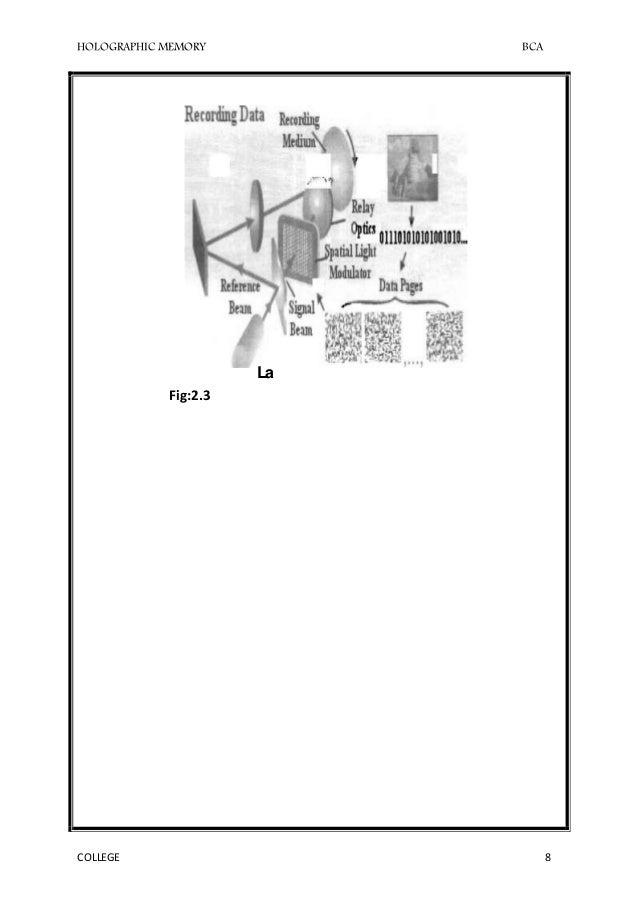 holographic seminar documentation
