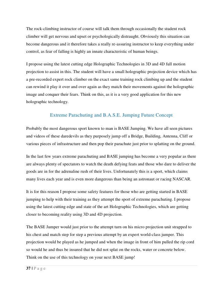 Holographic technology short essay