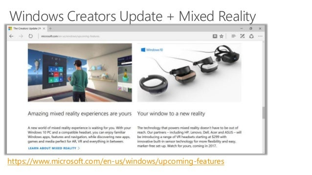 Intro to HoloLens Development + Windows Mixed Reality