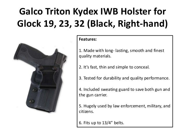 Best Kydex Holster Features