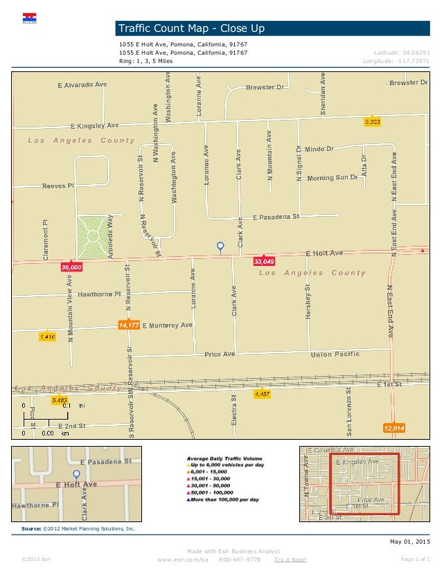 Holt Retail Space for Lease in Pomona CA