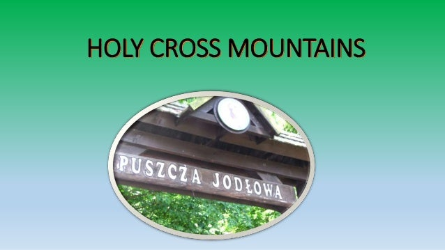 HOLY CROSS MOUNTAINS