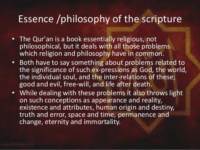 essence of holy quran Jesus in islam messenger of god ʿīsā عيسى jesus the spirit came into existence in an essence purged of nature's taint, which is called sijjin (prison.