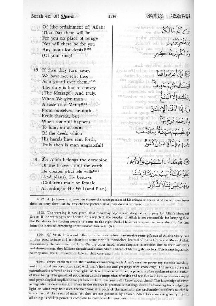 The Meaning of the Holy Qur'an ENGLISH/ARABIC 4