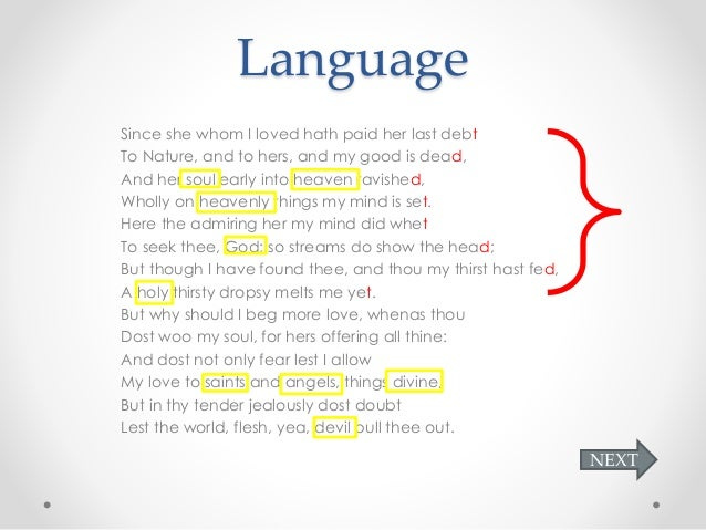 sonnet 17 analysis