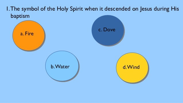 Holyspirit Quiz