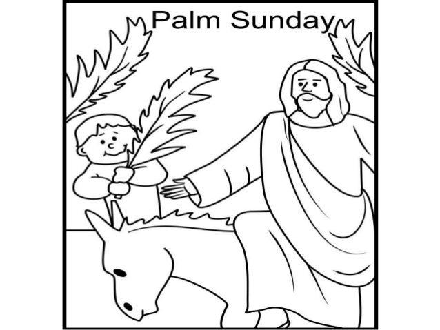 Jesus Entered In The City Of Jerusalem Riding On A Donkey
