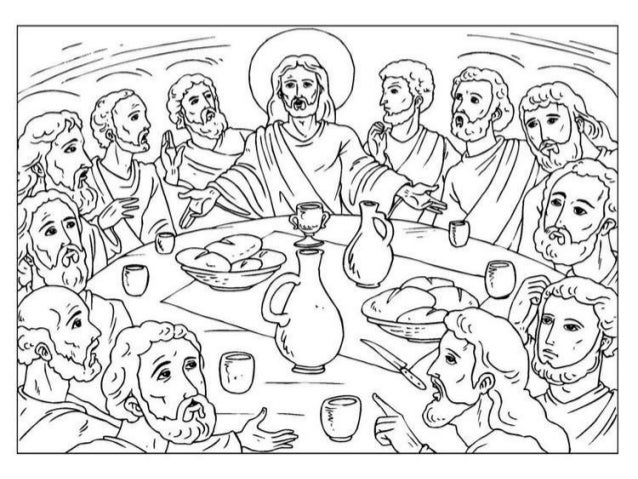 Holy week drawings for children