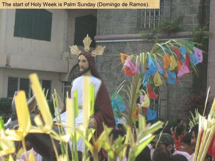 Holy Week in the Philippines Slide 3