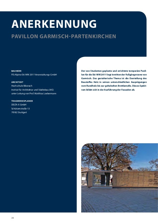 Bauen mit Holz - Holzbaupreis Bayern (timber construction - passive h…