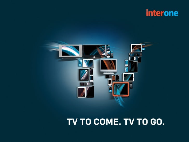 TV TO COME. TV TO GO.