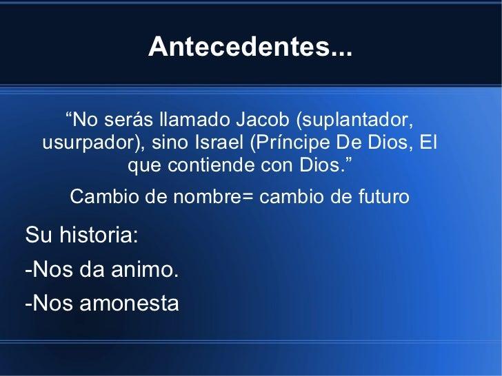 Hombres de fe_jacob Slide 2