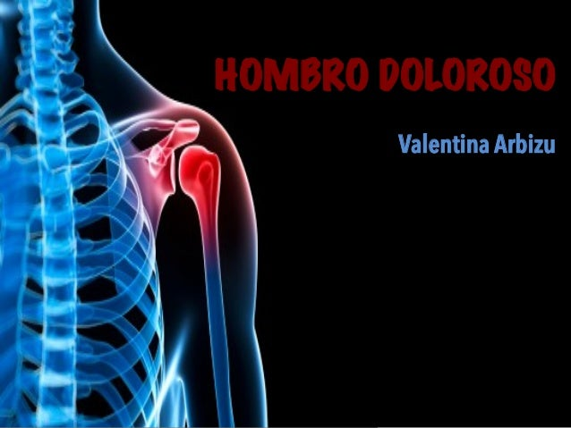 Valentina Arbizu HOMBRO DOLOROSO