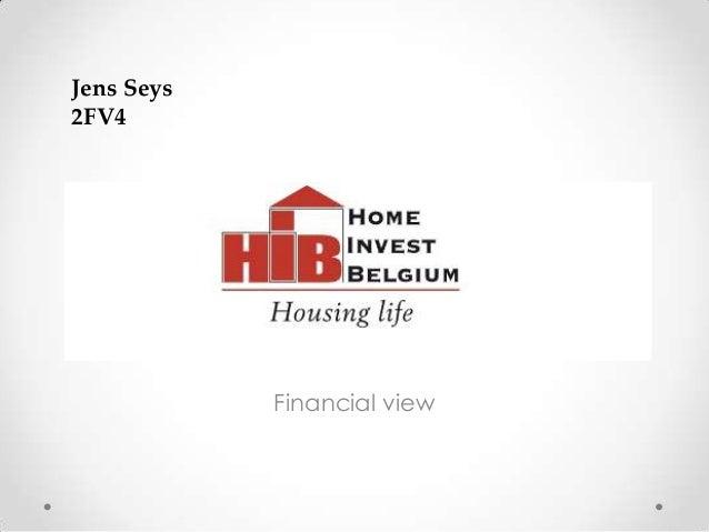 Jens Seys2FV4            Financial view