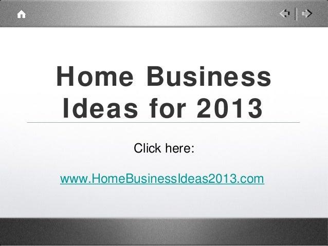 Home BusinessIdeas ...