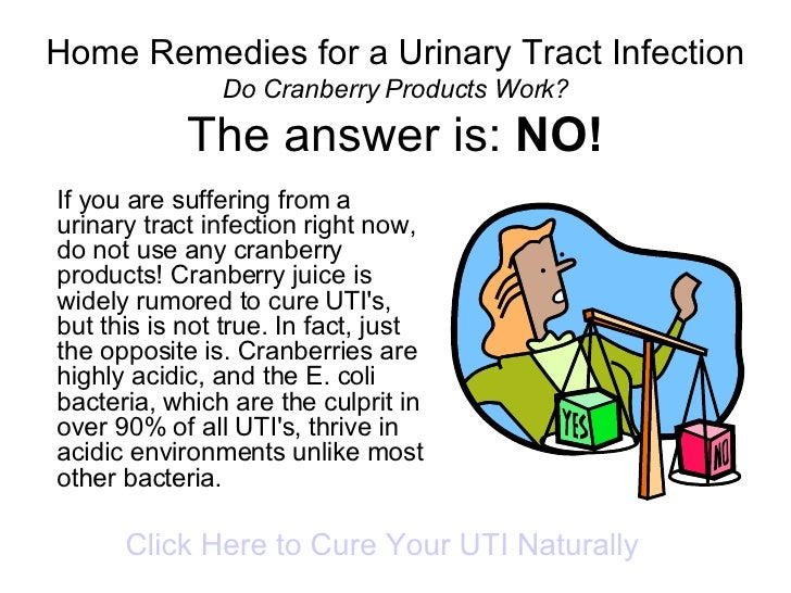 Home Remedies For A Urinary Tract Infection