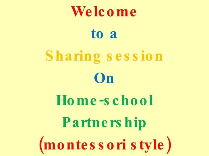 Home school partnership