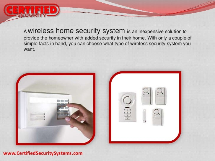 Home security systems your first defense for Self security system