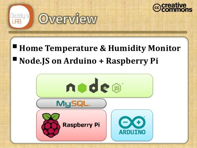 Home sensor prototype on Arduino & Raspberry Pi with Node JS