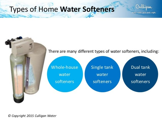 Home Water Softener Buying Guide