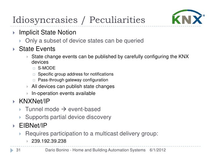 Idiosyncrasies / Peculiarities    Implicit State Notion        Only a subset of device states can be queried    State E...