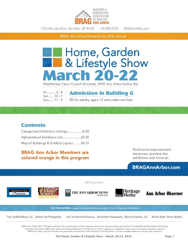 Home Garden And Lifestyle Show Program 2015