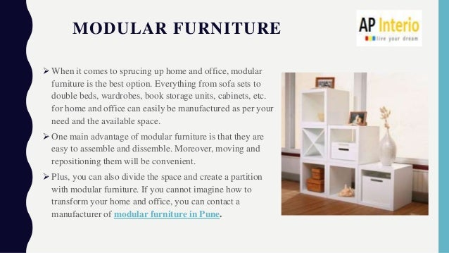 Decorate Your Home And Office With Modular Furniture Ap Interio
