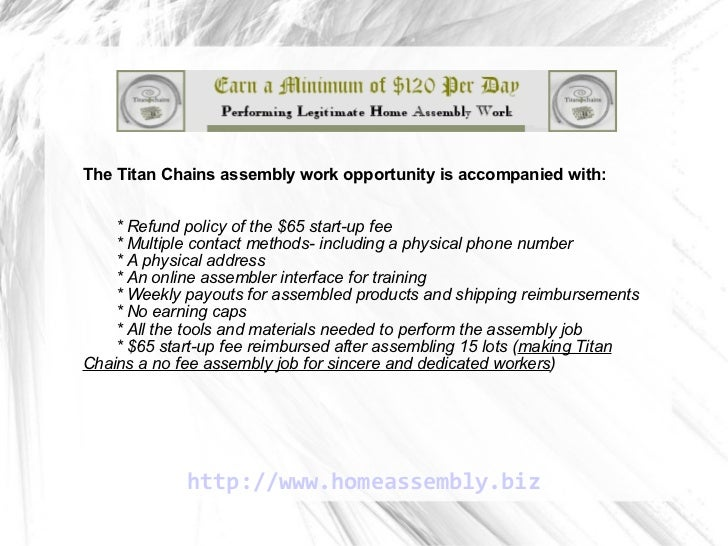 work from home assembly jobs no fee home assembly job involving no risk and unparalleled 9755