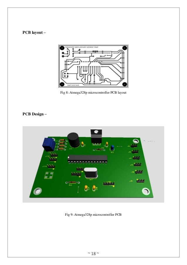 Smart Home Automation using Atmega328p