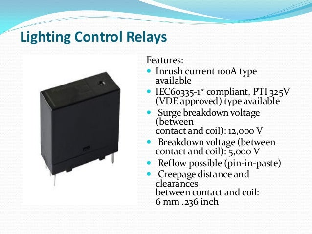 Home automation relays