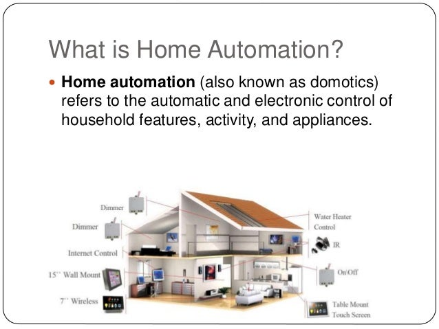 Home automation security system for Home automation system