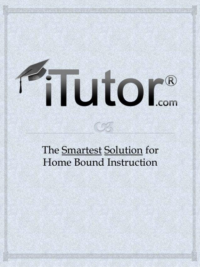 Home Bound Instruction Presentation