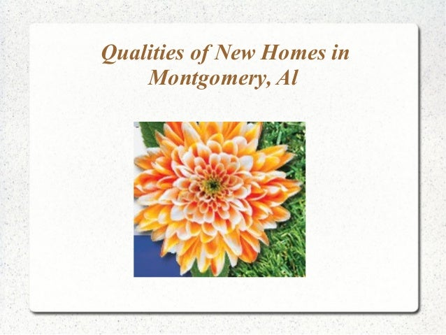 Home Builder Montgomery Al