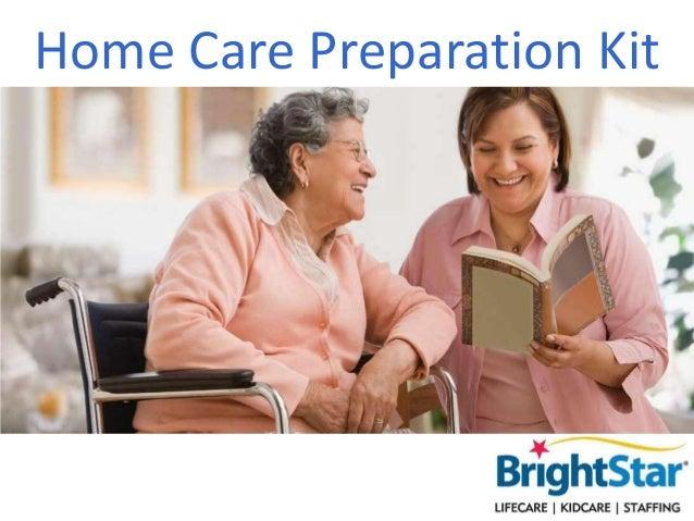 Home Care Preparation Kit