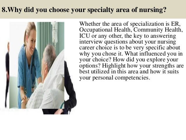 12. 8.Why Did You Choose Your Specialty Area ...
