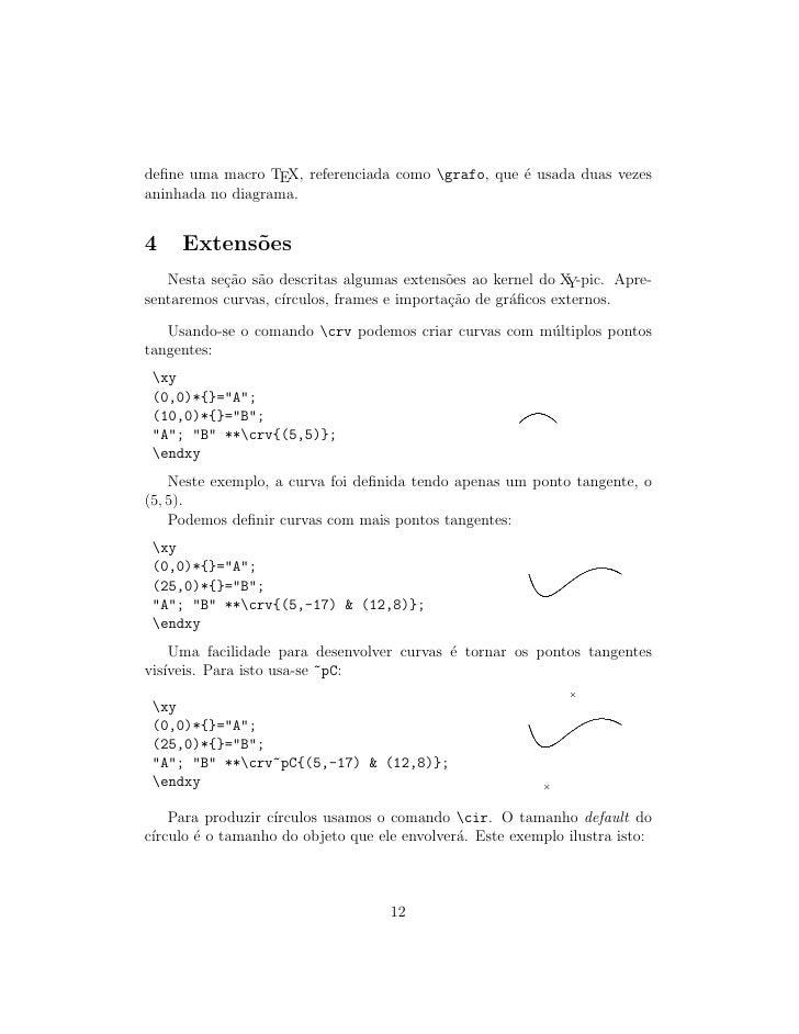 define uma macro TEX, referenciada como grafo, que ´ usada duas vezes                                                    e ...