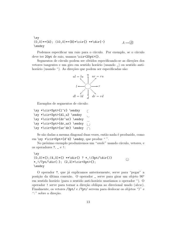 xy  (0,0)*+{A}; (10,0)*+{B}*cir{} **dir{-}                    A           0123                                            ...